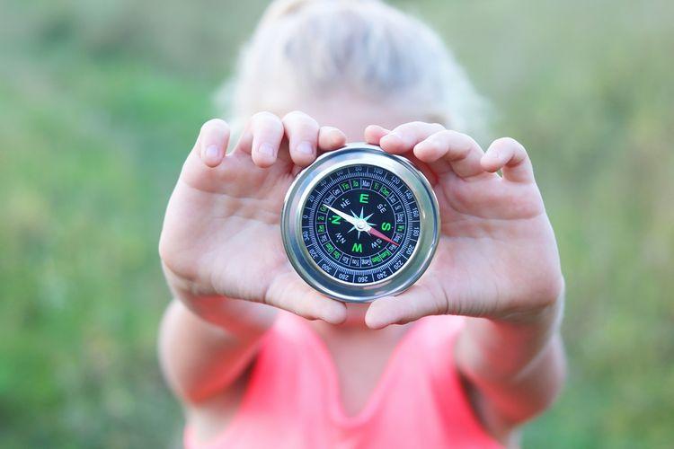 Okrúhly klasický kompas