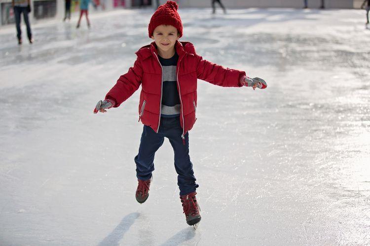 Detské zimné korčule na ľad