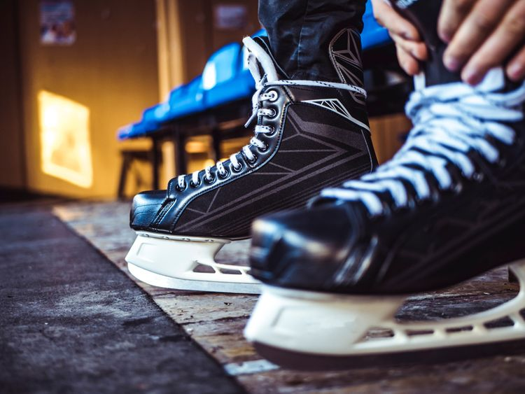 Pánske zimné hokejové korčule
