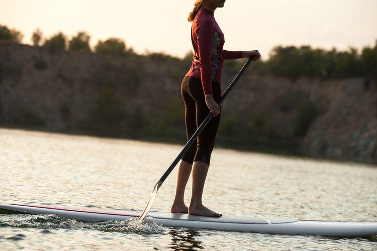 Vhodné oblečenie na paddleboard