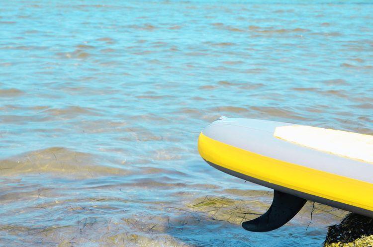 Plutva na paddleboarde