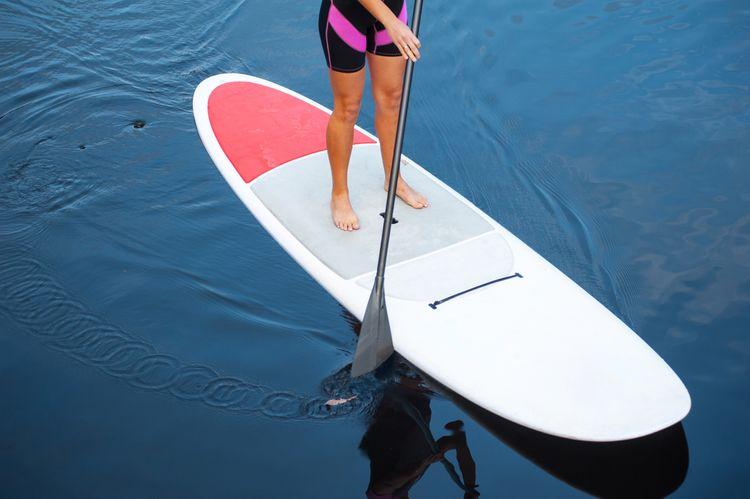 Paddleboard s veslom