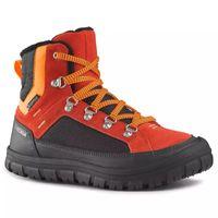 Quechua SH500 Warm detská hrejivá polovysoká obuv