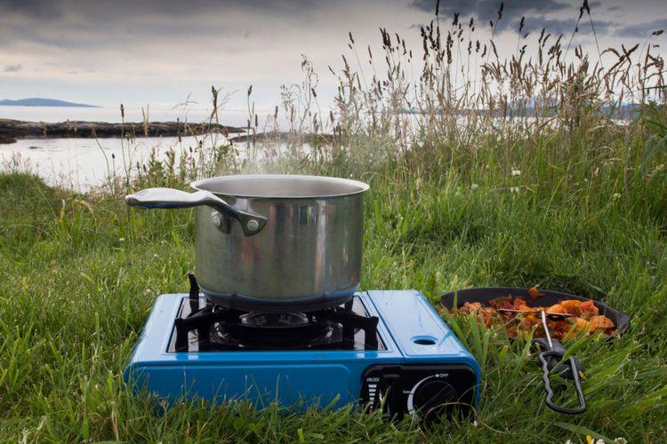 Plynový kempingový varič