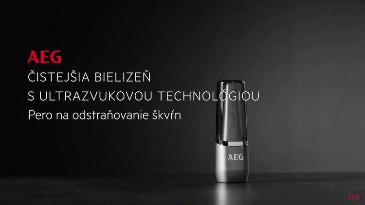 AEG A4WMSTPN1 ultrazvukové pero na odstraňovanie škvŕn recenzia