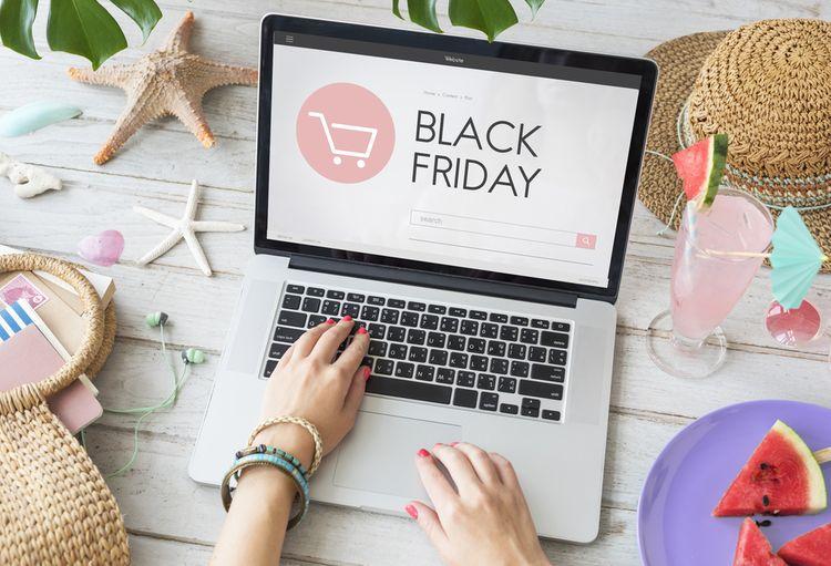 Nakupovanie na Black Friday