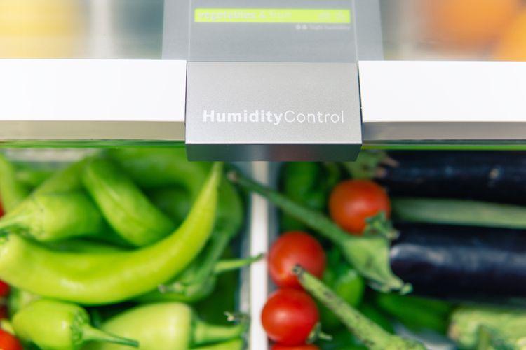 Správna vlhkosť v chladničke