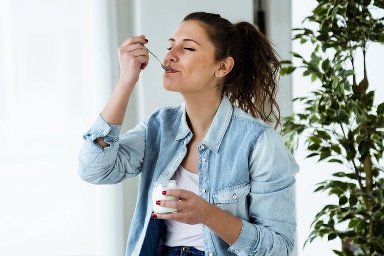 Domáci jogurt vyrobený v jogurtovači