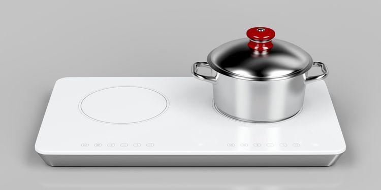 Biely indukčný varič