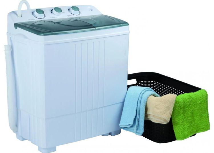 V prípade mini práčok je účinnosť prania nižšia