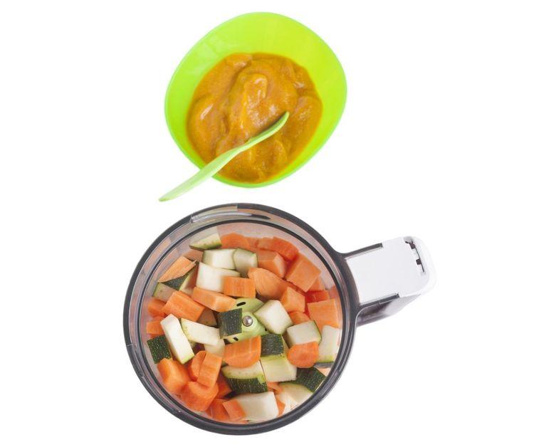 Príprava jedla v parnom mixéri