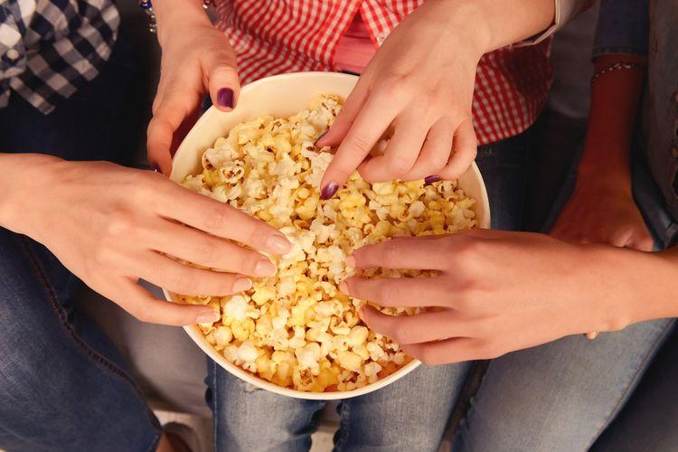 Popkorn je zdravší ako zemiakové lupienky či chrumky