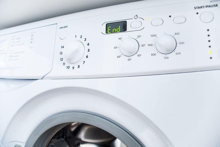 Ukončenie pracieho programu automatickej práčky