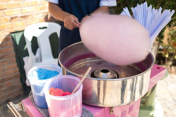 Výroba cukrovej vaty