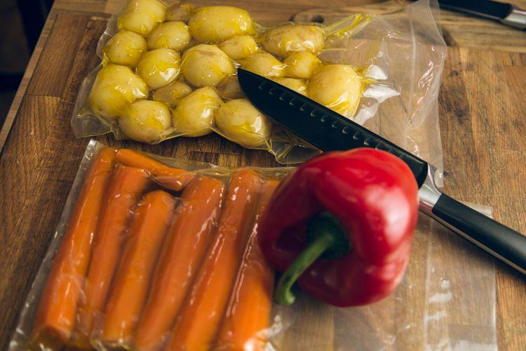 Uchovávanie jedla pomocou zváračky fólií