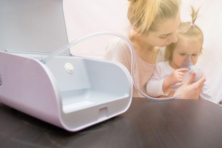 Ultrazvukový inhalátor pre deti
