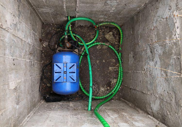 Čerpanie vody pomocou domácej vodárne