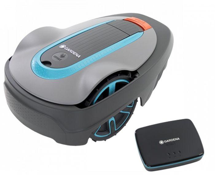 Robotická kosačka Gardena Sileno city 250 s bezpečnostným modulom
