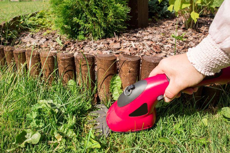Akumulátorové nožnice na trávu – batéria