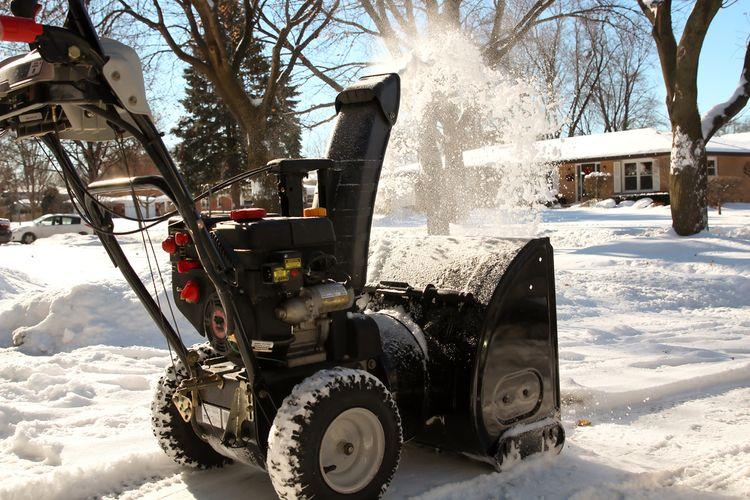 Ako správne používať snehovú frézu?