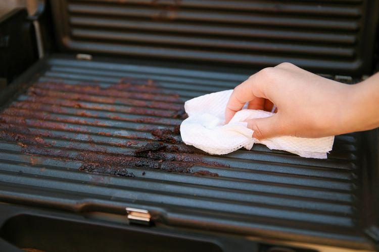 Ako vyčistiť elektrický gril