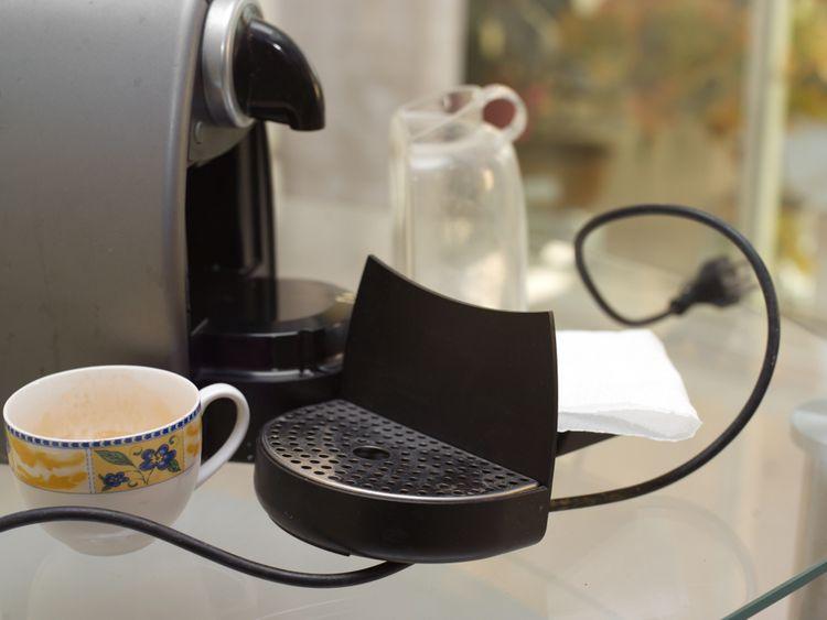 Čistenie kapsulového kávovaru od vodného kameňa