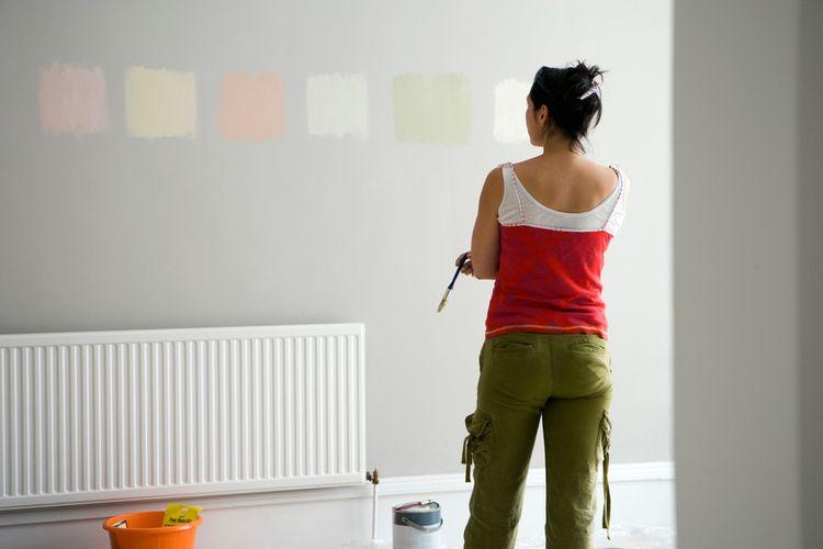 Ako vybrať farbu na stenu?