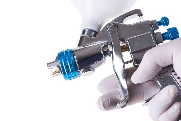 Bezvzduchová striekacia pištoľ