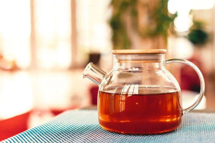 Sklenený čajník