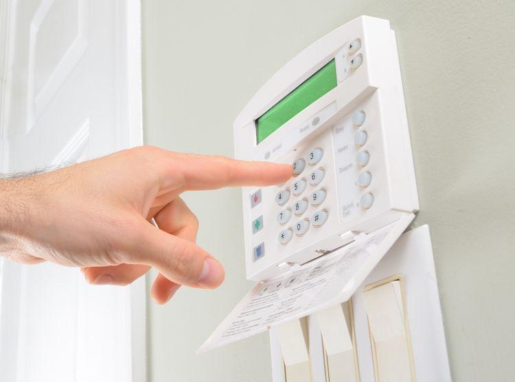Centrálna jednotka domového alarmu