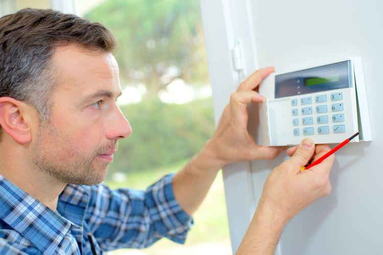 Inštalácia domového alarmu