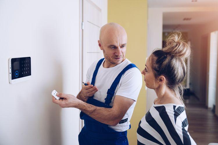 Inštalácia domového alarmu a vysvetlenie ovládania
