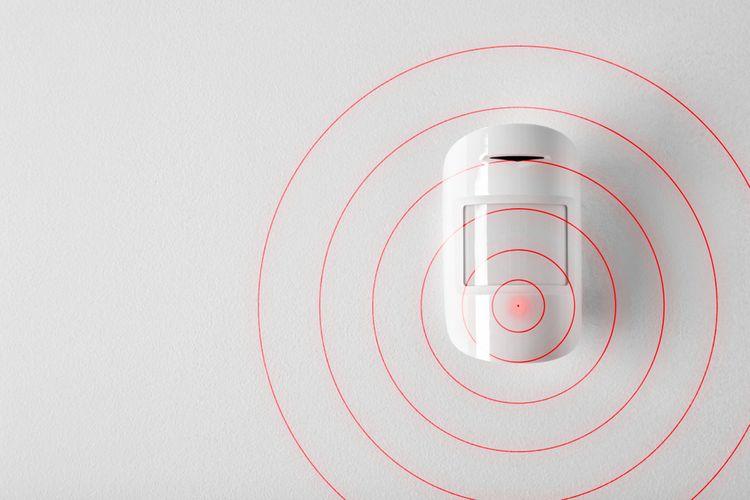 Domový alarm so snímačom pohybu