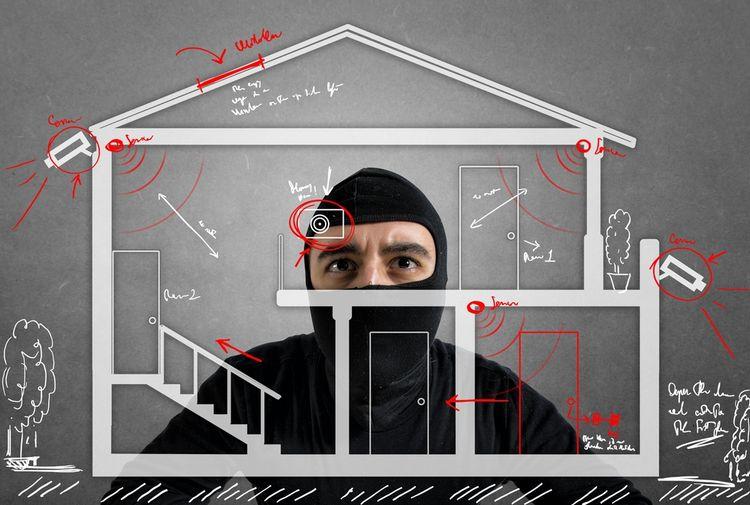 Bezpečnostný systém domácnosti