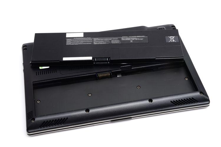 Notebook s vyberateľnou batériou