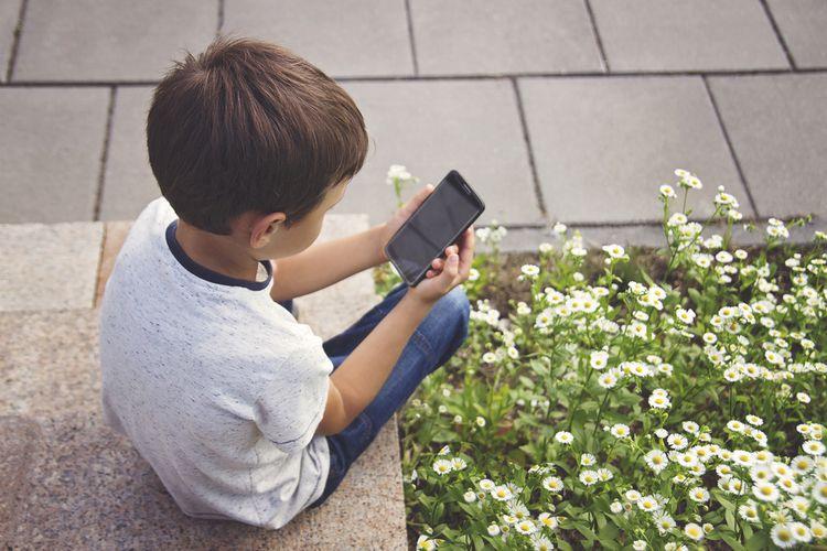 Displej detského telefónu