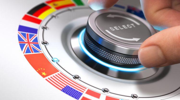 Výber jazykov v hlasovom prekladači