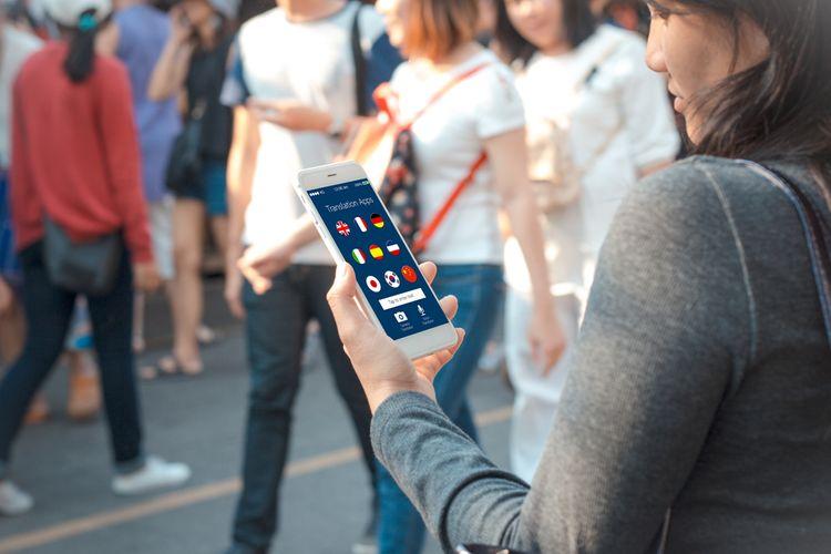 Prekladač – aplikácia v mobile