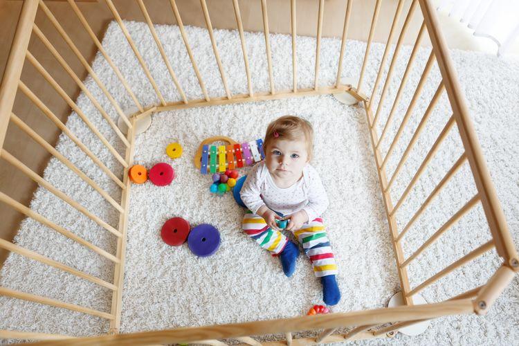 Ako vybrať detskú ohrádku?