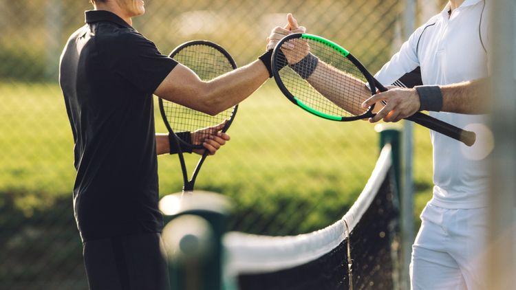 Značka tenisovej rakety