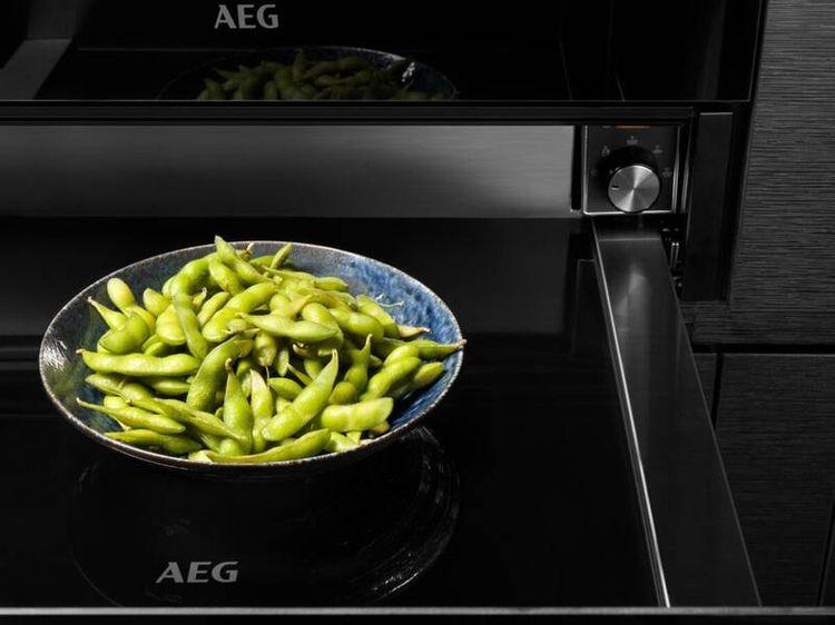 Výška ohrevnej zásuvky AEG