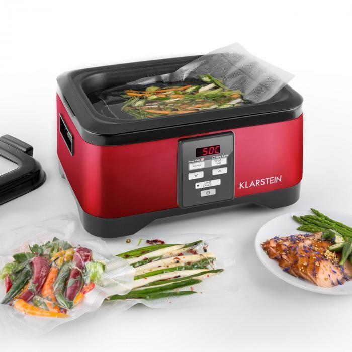 Príprava pokrmov v Klarstein Tastemaker Sous-Vide variči