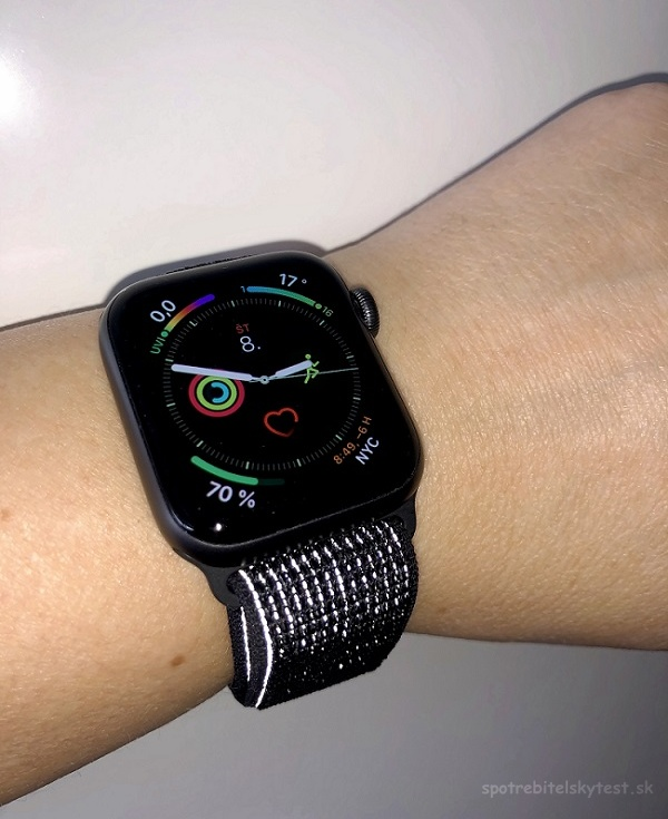 Reflexný náramok Apple Watch Series 4 Nike+