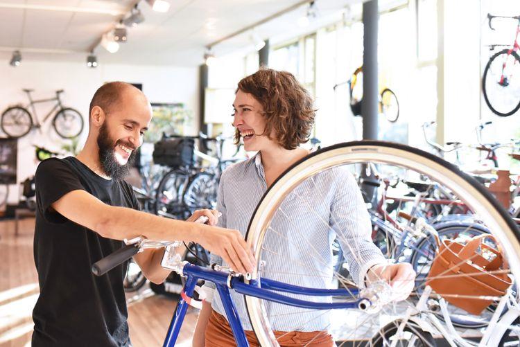 Dámsky bicykel