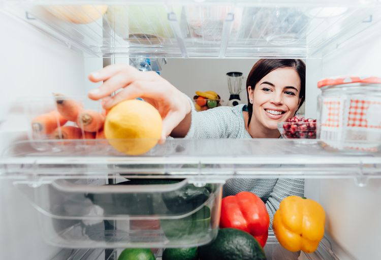 Jedlo v chladničke