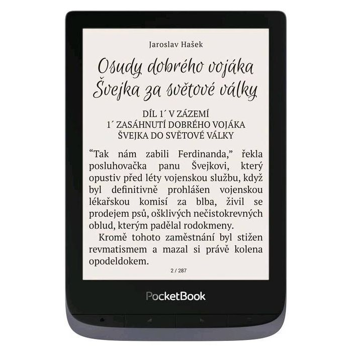 PocketBook 632 Touch HD 3 recenzia