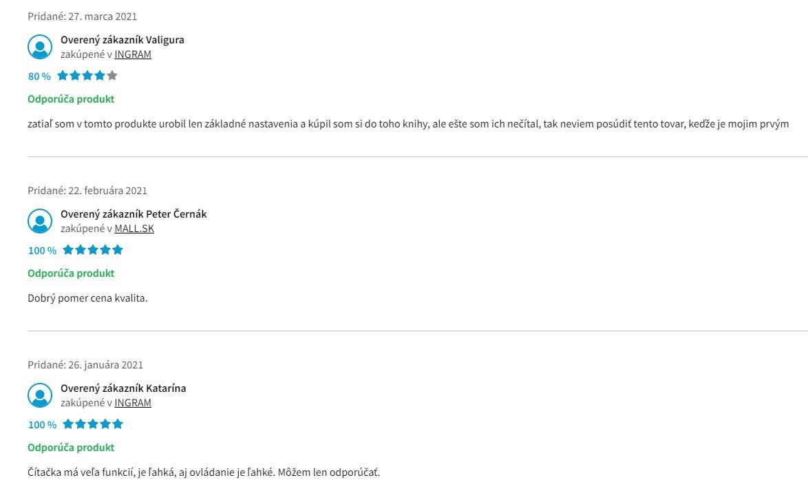 Recenzie a skúsenosti s čítačkou PocketBook 632 Touch HD 3
