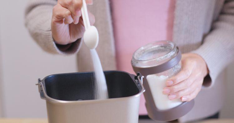 Príprava džemu v domácej pekárni