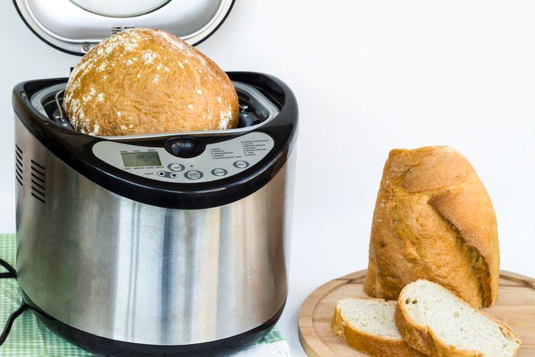 Zemiakový chlieb z domácej pekárne
