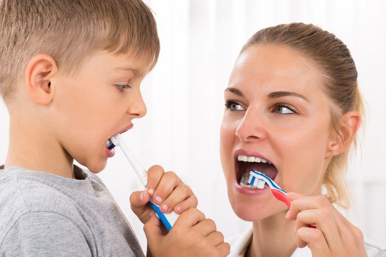 Elektrická zubná kefky pre celú rodinu